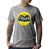 #PAPA: Original HARIZ® Collection T-Shirt // 36 Designs wählbar // Grau, S-XXL // Inkl. Urkunde, Ideales Geschenk zum Vatertag Weihnachten oder Geburtstag #Papa16: Dadman XXL