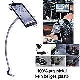 UrbanNerd KFZ Schwanenhals Halterung aus Metall für Apple-iPad-2-3-4-Mini-Air-Air-2 Samsung Galaxy