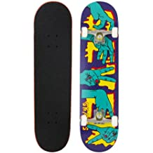 Seven Skate Skateboard Hands - Skateboard ( bolas, ejes, tablas ) , color (Purple/Green), talla 7.8 Zoll