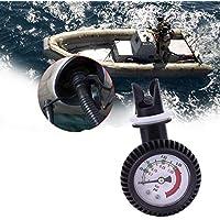 VIGORFLYRUN PARTS LTD 1pc PVC Termómetro de Medidor de Presión de Aire para Marina Mar Barco Inflable Kayak Raft Surfing