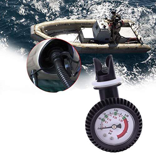 VIGORFLYRUN PARTS LTD 1pc Marine Luftdruckmessgerät Manometer Luftdruckmessgerät für Schlauchboot Boot Raft Rippen-Kajak