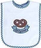 Smithy Fashion 1505039–Bavaglino Brezel Monello, 24x 24cm, Bianco