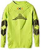 X-Bionic Running Man ninetten adulto funcional effektor OW camiseta de energía LG SL, primavera/verano, unisex, color Varios colores - Green Lime/Black, tamaño S