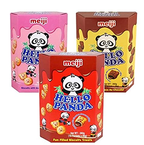 HELLO PANDA BISCUIT GIANT 260g CHOCO | DOUBLE CHOCO |