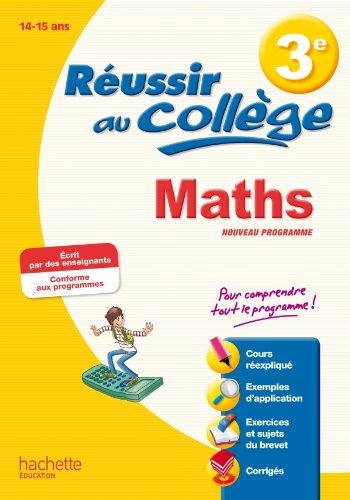 Réussir au Brevet - Maths 3e