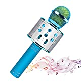 Wireless Microphone Karaoke,Portable Bluetooth Speaker,Compatible with iOS & Android Smartphone,Superior Audio Quality