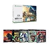 Pack Xbox One S 500 Go Assassin's Creed Origins + Suicide Squad + Mad Max : Fury Road + Batman v Superman + Pacific Rim + Kong : Skull Island
