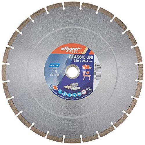 "Norton Clipper 70184626813 Diamanttrennscheibe\""Classic Uni, 350 x 25, 4 mm"