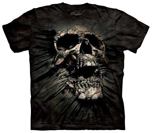 The Mountain Unisex Erwachsen Gr. 2XL Durchbruch Skul Totenkopf T Shirt -