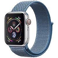 Corki für Apple Watch Armband 38mm 40mm 42mm 44mm, Weiches Nylon Ersatz Uhrenarmband für iWatch Apple Watch Series 4, Series 3, Series 2, Series 1