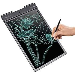 IGERESS 12.9 Pouces LCD écriture Tablette électronique Panneau d'écriture avec Une Ligne d'écriture Plus épaisse Plus Lumineux et de Grande Taille ...