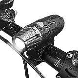 Sunspeed Super Faro Anteriore per bici a USB ricaricabileCaratteristiche: Anti scivolo, Resistente all'impatto, RicaricabileDettagli Tecnici:  - LED Chip: 3W CREE LED - Materiali: Silicone e Plastica - Colore: Nero - Dimensione Prodotto: appr...