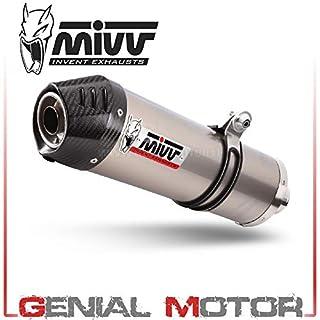 B.004.LNC Auspuff exhaust MIVV Oval Titan Mit Carbon endkappe fur R 1200 Gs 2009 09