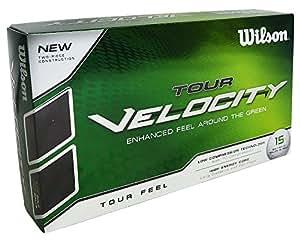 Wilson Tour Velocity 15 Feel Golf Balls - White