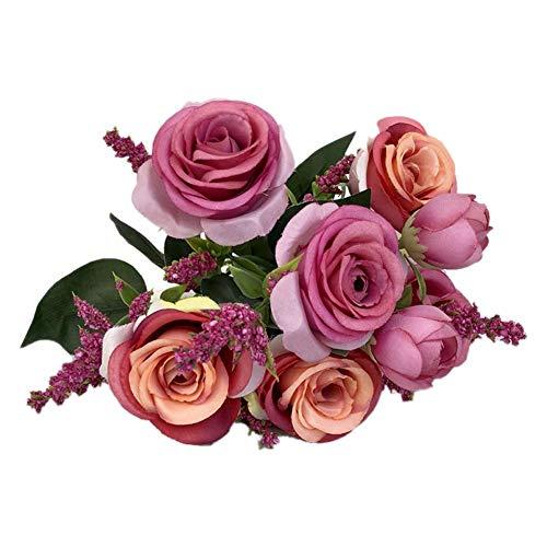 Szseven Rosas Artificiales Regalos San Valentín Elegantes