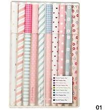 YAKO - Juego de bolígrafos (10 unidades), multicolor