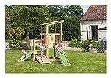 Eden cas001005009Tour de Spiele Rabbit Wasserfall, lindgrün für Holz, apfelgrün Rutsche