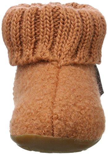 Haflinger Everest Karlo, Hi-Top Slippers mixte enfant Orange (zimt)