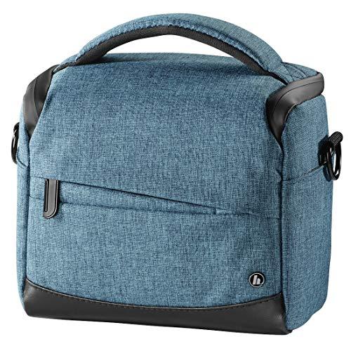 Hama Unisex Sac Pour Appareil Photo Trinidad, 110, Bleu Handtasche, Blau 00185032, 13.5x18.5x18.5 cm