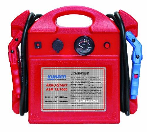 Preisvergleich Produktbild Kunzer ASM 12 / 1000 Akku-Start Tragbar,  12 Volt 2960 / 1000 Ampere