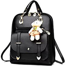 Naerde estilo moderno mochila Moda PU cuero mochila bolsas de hombro mochila para niñas o mujeres