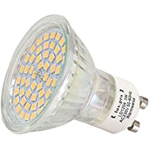 Luxpro - Lámpara LED (GU10, 230 V, 54 ledes SMD de alta potencia