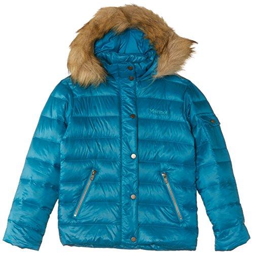 Marmot Kinder Jacke Girl'Hailey Blau - aqua blue