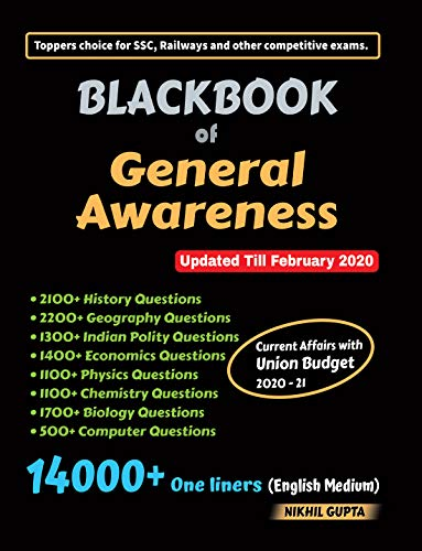 Blackbook of General Awareness February 2020
