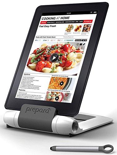 Prepara Tablet-Halter Iprep in weiß, Kunststoff, 25x25x8 cm