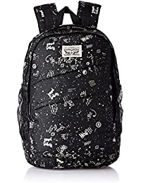 Levis Fabric 32 cms Black Backpack (38004-0069)