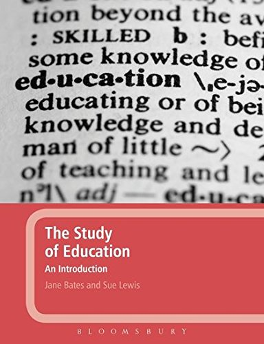 The Study of Education: An Introduction