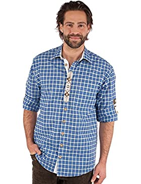 Orbis Trachtenhemd 920002-3430 blau