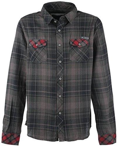 Brandit Check Shirt Duncan XL Schwarz/Braun