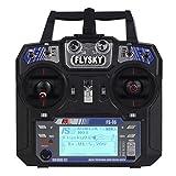 Easybuyeur FS-i6 Flysky AFHDS Transmitter Receiver 2A 6 Channel Radio for RC Quadcopter BG
