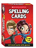 110 Spelling Flash Cards for ages 7-9 (Years 3-4) including spelling games for the National Curriculum (Scholastic Spelling Cards)