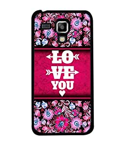 PrintVisa Designer Back Case Cover for Samsung Galaxy S Duos 2 S7582 :: Samsung Galaxy Trend Plus S7580 (Love Lovely Attitude Men Man Manly)