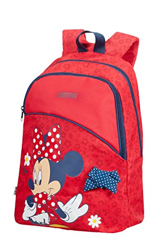 American Tourister New Wonder - Small Pre-School Disney Kinder-Rucksack, 16 Liter, Minnie Bow - Minnie Bows