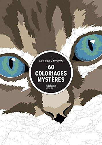 60 coloriages mystères: Grand bloc (Art thérapie) por Collectif