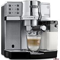 DeLonghi EC 850.M - Cafetera Expresso, color plata