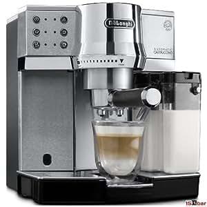 DeLonghi EC 850.M Espressomaschine / Siebträger / IFD Milchschaumsystem / 15 Bar / Metall, silber