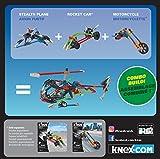 K'NEX Imagine Stealth Plane Building Set for Ages 5+, Construction Education Toy, 61 Pieces