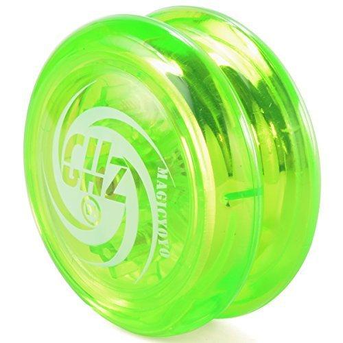 XCSOURCE® Boule de yoyo magique réceptif Yo-Yo bouclant + Yo-Yo Astuces Cordes TH180 (couleur: vert)