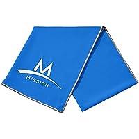 Mission Tech Knit Cooling Toalla, Unisex, Azul, Talla Única