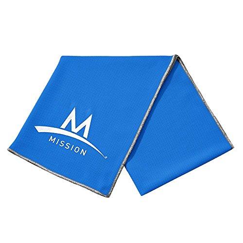 mission-tech-knit-towel-toalla-para-hombre-color-azul-talla-l