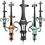 Aliyes Handmade professionale in legno massiccio violoncello elettrico 4/4Full size Silent violoncello elettrico, DT-1306