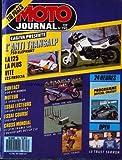 MOTO JOURNAL [No 793] du 16/04/1987 - CAGIVA PRESENTE : L'ANTI TRANSALP. 750...