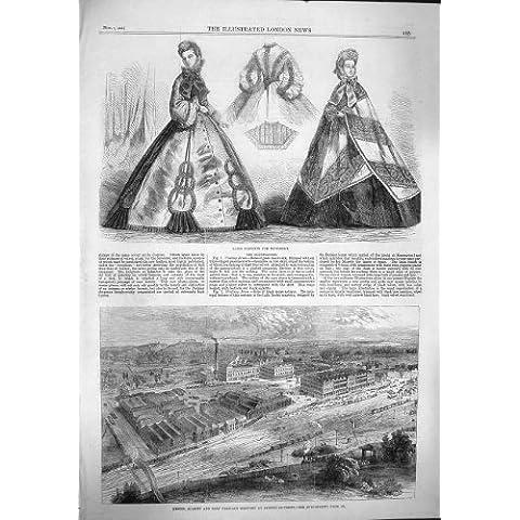 BURTON 1862 DELLA FABBRICA DI BIRRA DI MODO ALLSOPP PALE-ALE DI PARIGI