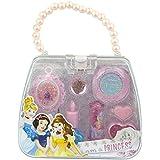 Princesas Disney - Cajita de plástico en forma de bolso repleto de maquillaje (Markwins International 9512210)