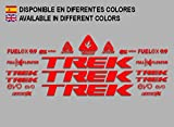 PEGATINAS STICKERS TREK FUEL EX 9.9 BIKES F144 STICKERS AUFKLEBER DECALS AUTOCOLLANTS ADESIVI MTB BTT ROJO