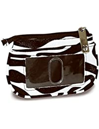 Divinity Boutique 79214 Coin Purse - Zebra With Id Window 4.125 X 3 X 0.0375 In.